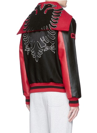 Back View - Click To Enlarge - Opening Ceremony - Global varsity jacket – Albania