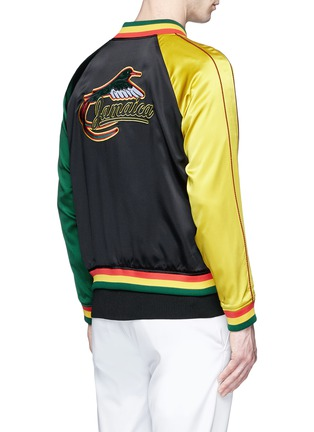 Back View - Click To Enlarge - Opening Ceremony - Global Varsity reversible jacket – Jamaica and United States