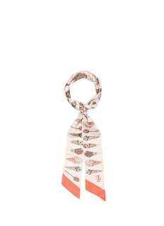 Cjw 'Ice Cream Twilly' skinny silk scarf