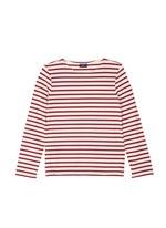 'Minquiers Moderne' stripe unisex long sleeve T-shirt