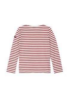 Saint-James'Minquiers Moderne' stripe unisex long sleeve T-shirt