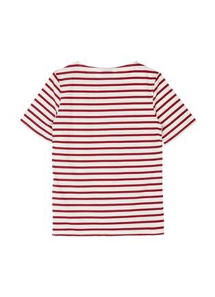 Figure View - Click To Enlarge - Saint-James - 'Levant Moderne' stripe unisex T-shirt