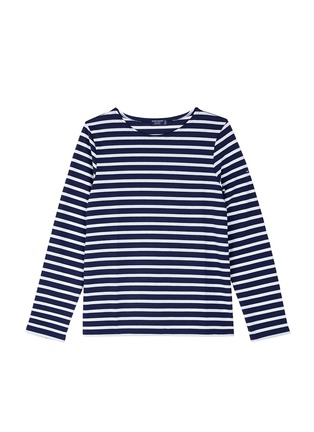 Main View - Click To Enlarge - Saint-James - 'Minquiers Moderne' stripe unisex long sleeve T-shirt