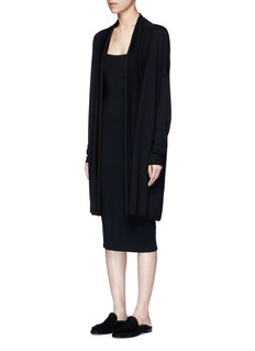 The Row'Judin' merino wool-cashmere cardigan