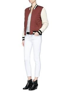 Isabel Marant Étoile'Dabney' floral print reversible bomber jacket