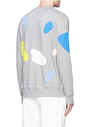 Back View - Click To Enlarge - Tim Coppens - 'Mushroom Spot' print sweatshirt