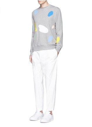 Figure View - Click To Enlarge - Tim Coppens - 'Mushroom Spot' print sweatshirt