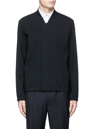 Main View - Click To Enlarge - Tim Coppens - Bonded virgin wool bomber jacket