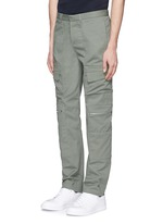 Pocket cotton twill pants