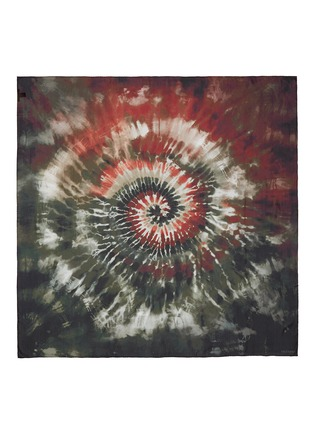 Main View - Click To Enlarge - Valentino - Tie dye print silk scarf