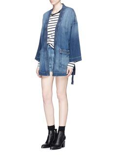 CURRENT/ELLIOTTDenim kimono jacket