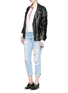 Current/Elliott 'The Fling' distressed jeans