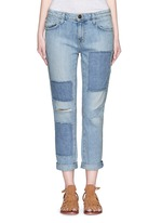 'The Fling' distressed jeans