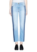 'The Seamed Vintage Straight' cropped jeans