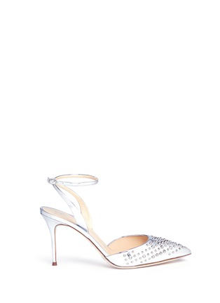 Main View - Click To Enlarge - Giuseppe Zanotti Design - Stud mirror leather pumps