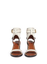 'Jaeryn' eyelet suede sandals