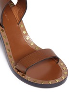 'Jaeryn' rivet leather sandal boots