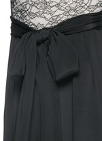 'Rona' floral lace bodice jumpsuit