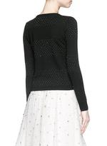 'Marybeth' beaded stripe cardigan