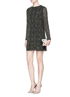 ALICE + OLIVIA 'Marcia' beaded shift dress