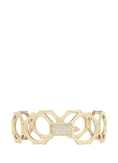 Lynn Ban 'Reverso' diamond 14k yellow gold octagonal covertible bracelet ring