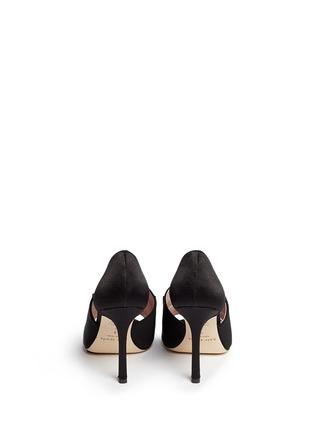 Back View - Click To Enlarge - Kate Spade - 'Idda' bow satin sandals