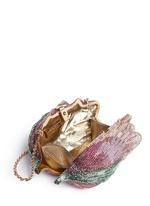 'Angelique Tulip' crystal pavé minaudière