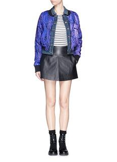 COCURATADigital print nylon bomber jacket