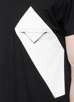 Kimono sleeve cotton-modal T-shirt