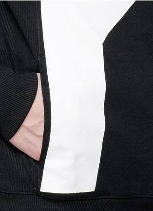 Detail View - Click To Enlarge - Den Im By Siki Im - Contrast irregular shape print cotton sweatshirt