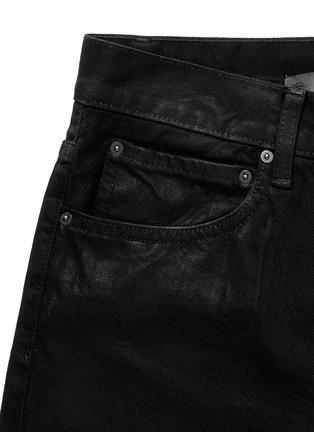 - Den Im By Siki Im - 'Peg' sheen denim cropped jeans