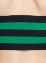 Stripe punto knit bandeau