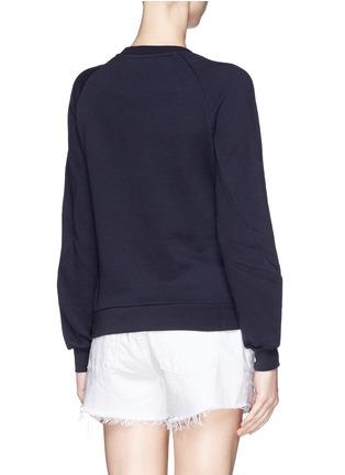 STELLA MCCARTNEY-Gemstone appliqué sweatshirt