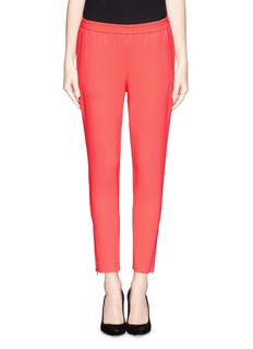 STELLA MCCARTNEY Zip cuff elastic jogging pants