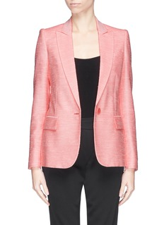 STELLA MCCARTNEY Napped tweed tailored jacket