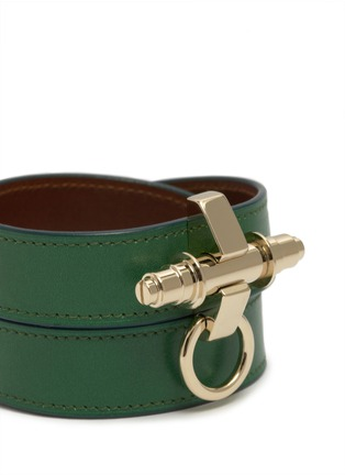 Detail View - Click To Enlarge - Givenchy - Obsedia wrapped leather bracelet