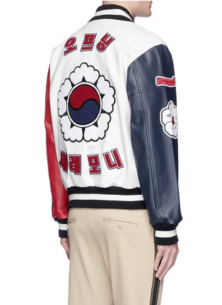 Back View - Click To Enlarge - Opening Ceremony - Global Varsity jacket – Korea