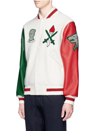 Front View - Click To Enlarge - Opening Ceremony - Global varsity jacket – Italy