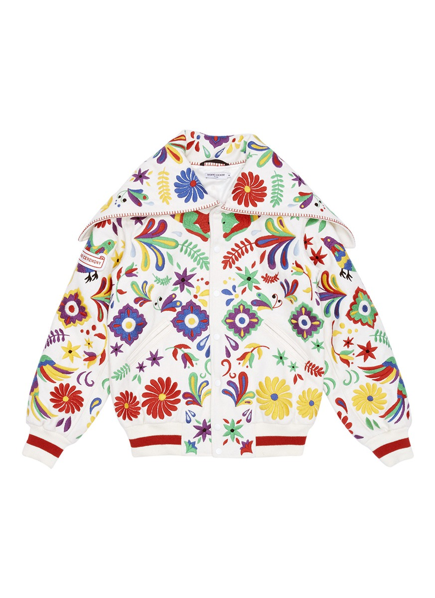 Global varsity jacket – Mexico by Opening Ceremony