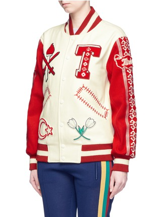Detail View - Click To Enlarge - Opening Ceremony - Global varsity jacket – Turkey