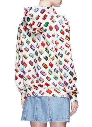 - Opening Ceremony - Global Varsity hoodie – Around The World