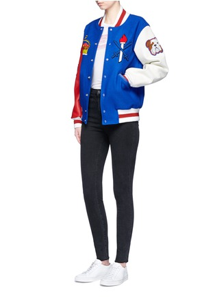 Detail View - Click To Enlarge - Opening Ceremony - Global varsity jacket – United Kingdom