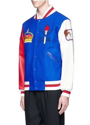 Front View - Click To Enlarge - Opening Ceremony - Global varsity jacket – United Kingdom
