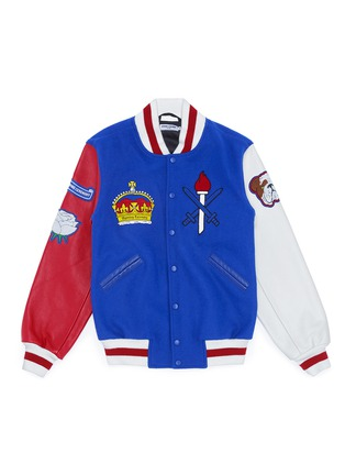 Main View - Click To Enlarge - Opening Ceremony - Global varsity jacket – United Kingdom