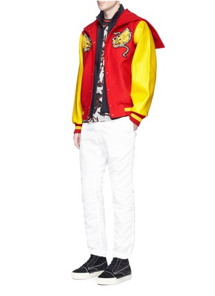 Detail View - Click To Enlarge - Opening Ceremony - Global varsity jacket – China