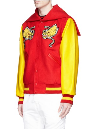 Front View - Click To Enlarge - Opening Ceremony - Global varsity jacket – China