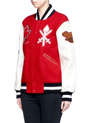 Detail View - Click To Enlarge - Opening Ceremony - Global varsity jacket – Canada
