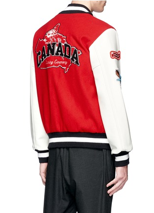 Back View - Click To Enlarge - Opening Ceremony - Global varsity jacket – Canada