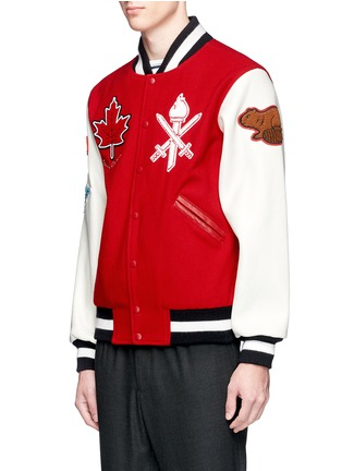 Front View - Click To Enlarge - Opening Ceremony - Global varsity jacket – Canada