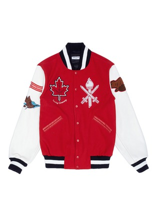 Main View - Click To Enlarge - Opening Ceremony - Global varsity jacket – Canada